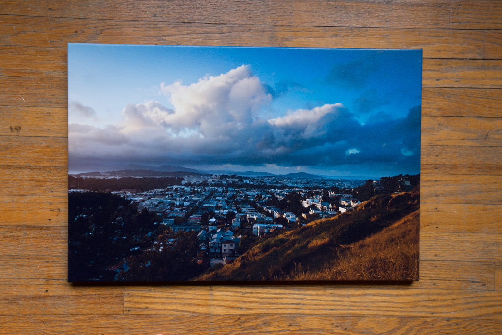 "Twin Peaks 16""x24"" Wrapped Canvas Print $100"