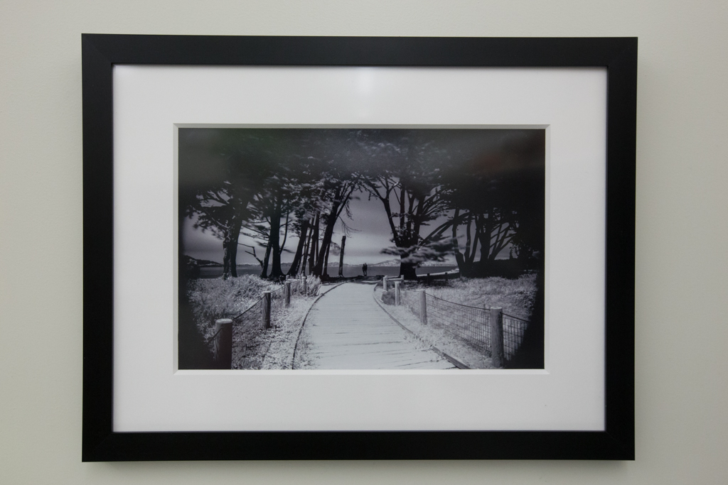 "Pause Framed 8""x12"" Silver Halide Print $250"