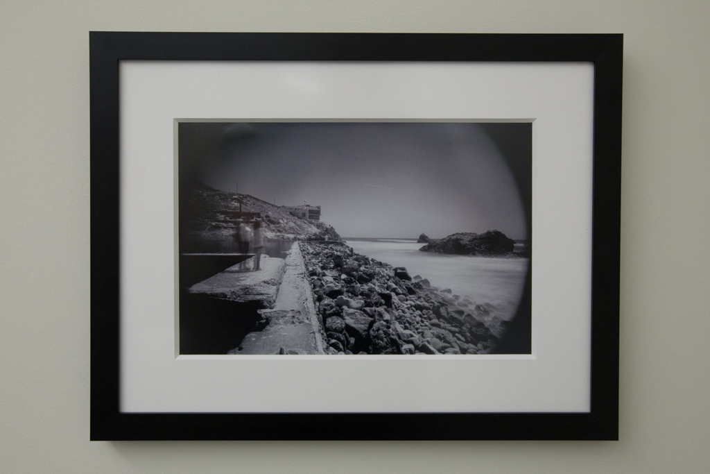 "Echos of Time Framed 8""x12"" Silver Halide Print $250"