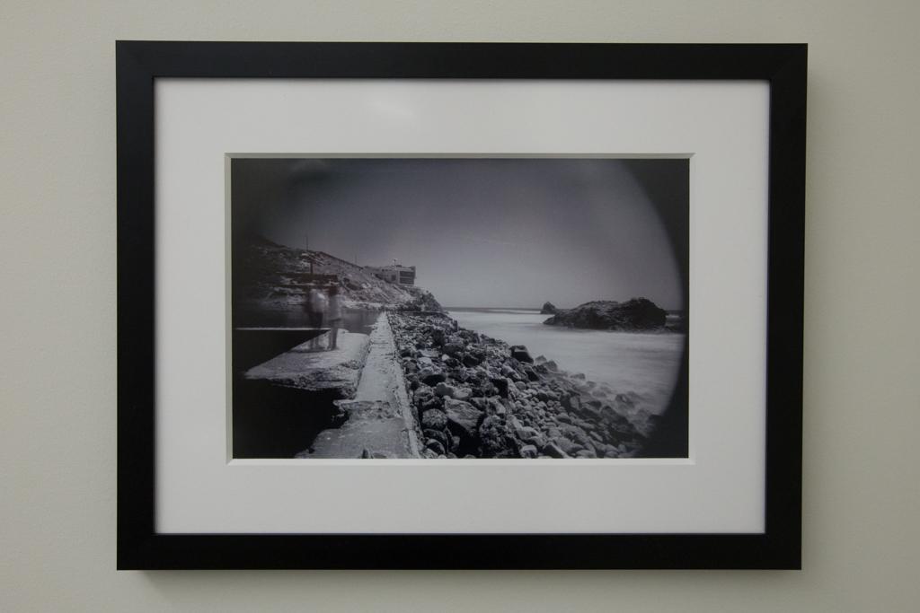 """Echos of Time Framed 8""""x12"""" Silver Halide Print $250"""